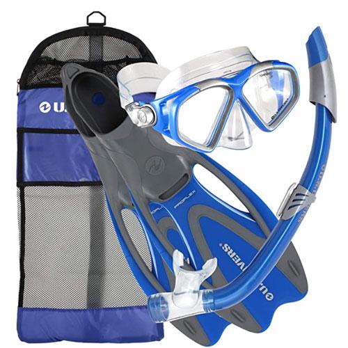 U.S. Divers Adult Cozumel Snorkel Gear