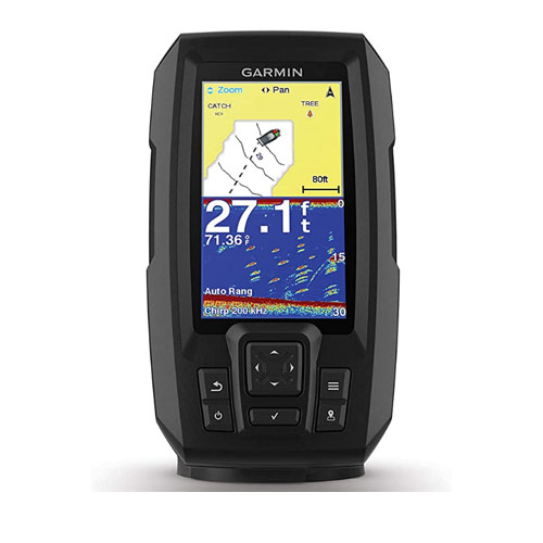 Garmin Striker 4 Plus Built-In Kayak GPS