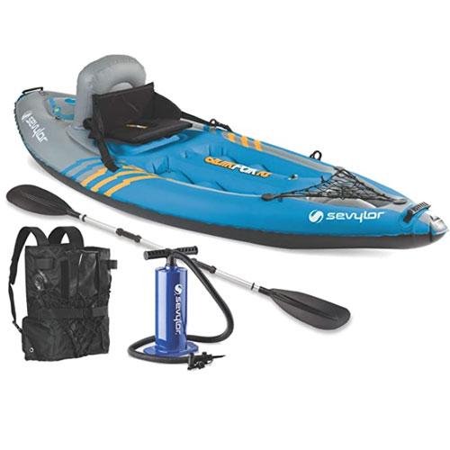 Sevylor Quikpak K1 Kayak For Kids