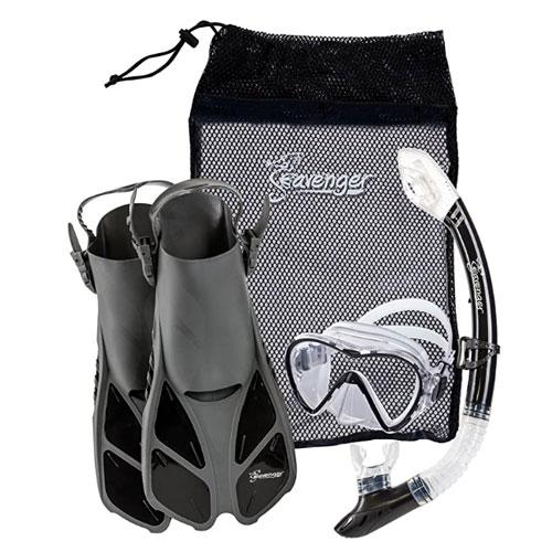 Seavenger Adult and Junior Snorkel Gear