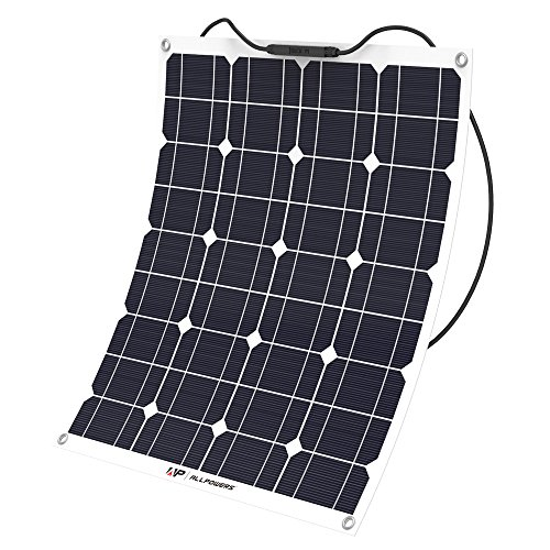 AllPowers 50W Bendable Solar Panel For Sailboat