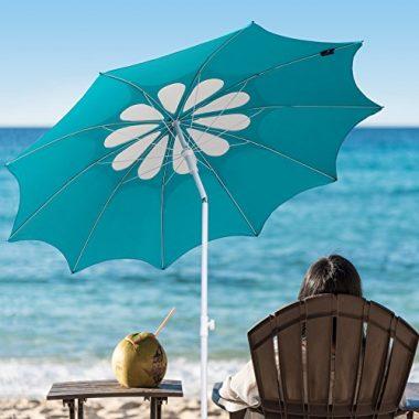 2017 Beach Patio Heavy Duty Umbrella by Ammsun
