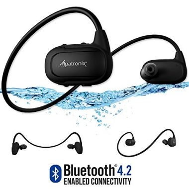 Alpatronix Waterproof Wireless Sport Headphones