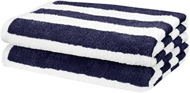 Cotton Beach Towel by AmazonBasics