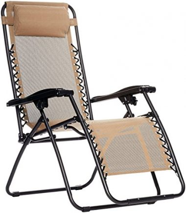 AmazonBasics Zero Gravity Beach Chair
