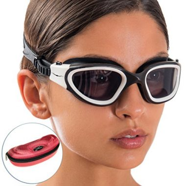 Wide View Swim Goggle by AqtivAqua
