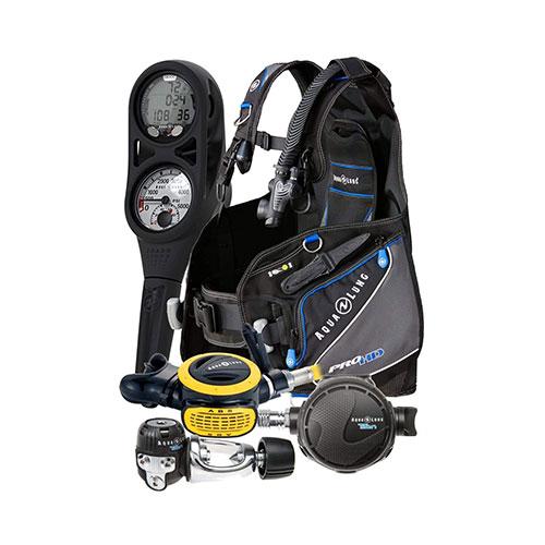 Aqua Lung Pro HD BCD Scuba Gear Package
