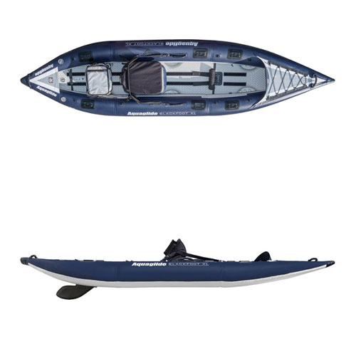 Aquaglide Blackfoot Angler 125 HB Inflatable Fishing Kayak
