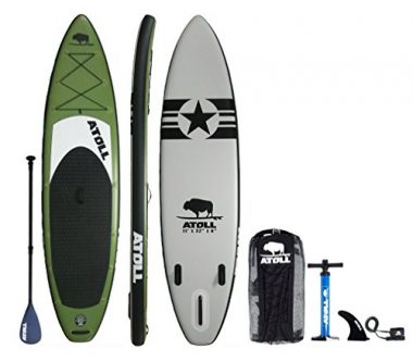 Atoll Fishing Inflatable Stand up Paddle Board
