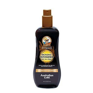 Australian Gold Bronzing Spray Intensifier Tanning Oil