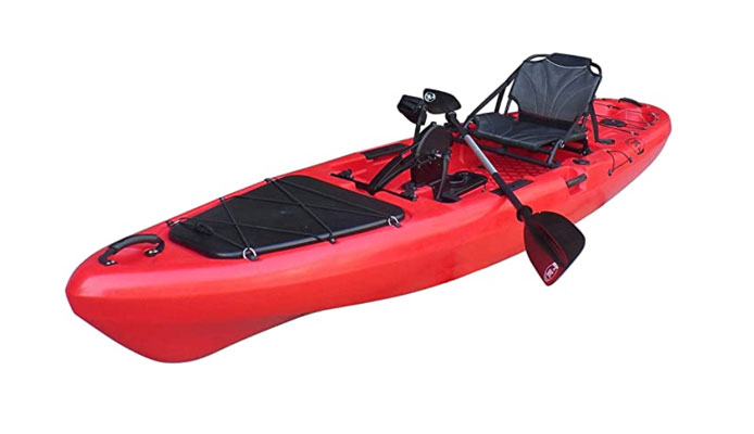 BKC PK13 Fishing Pedal Kayak