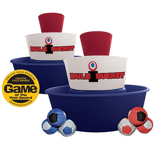 BulziBucket Indoor/Outdoor Toss Game
