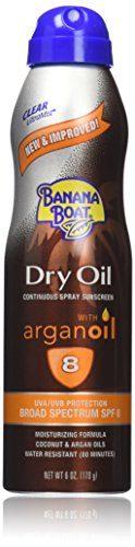 Banana Boat Tanning Oil Ultra Mist Spray