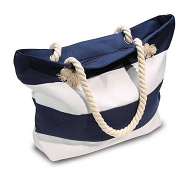 Beach Bag With Zipper Pockets by Mokus Gear