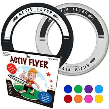 Activ Flyer Best Kid's Flying Ring Beach Game