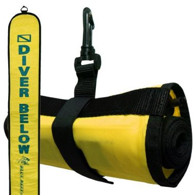 Blue Reef Diver Below Deluxe 4′ Surface Marker Buoy (SMB)