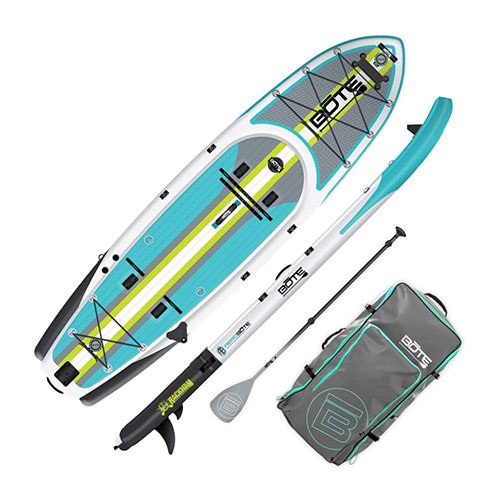 Bote Rackham Aero Full Trax Fishing Paddle Board