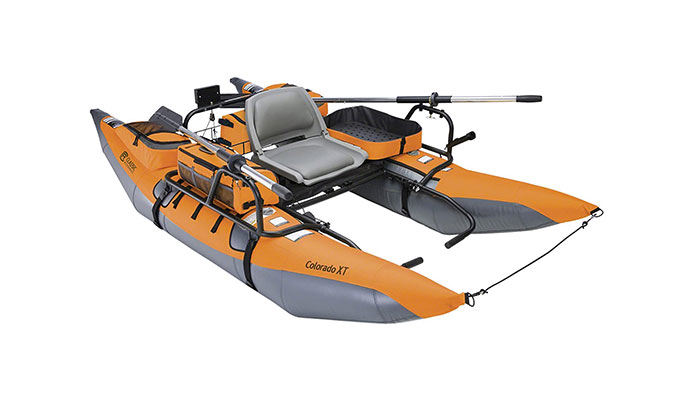 Colorado XT Fishing Pontoon Inflatable Boat