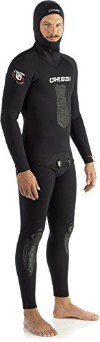 Cressi Men's Apnea Two Piece Premium Neoprene 5mm Spearfishing Suit