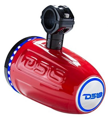 DS18 Hydro Red Wakeboard Tower Speakers