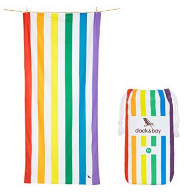 Microfiber Beach Towel by Dock & Bay