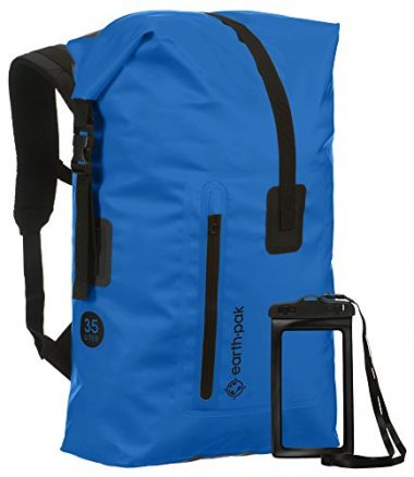 e4208b582636 35L 55L Heavy Duty Roll Top Waterproof Backpack by Earth Pak