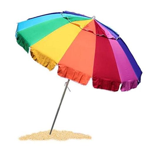 EasyGo High Wind-Resistant Beach Umbrella