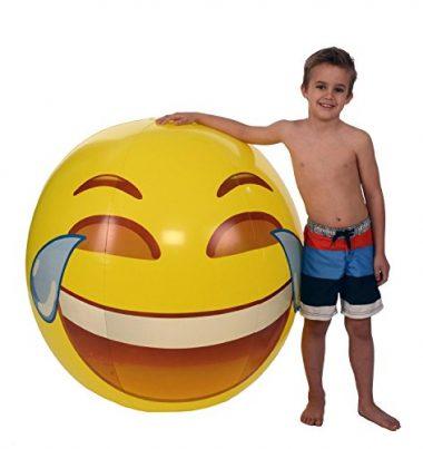 Emoji Universe: Gigantic 56″ Tears of Joy Beach Ball