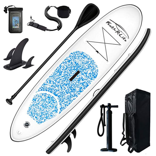 FEATH-R-LITE 10′ Inflatable Yoga Paddle Board