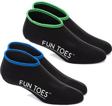 FUN TOES 2.5MM Neoprene Socks for Water Sports for Women & Men