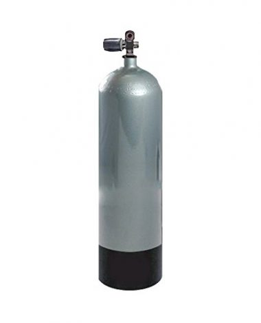 Faber FX Series 100 cu ft High Pressure Blue Steel Scuba Tank