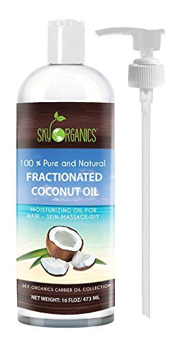 Fractionated Coconut Tanning Oil