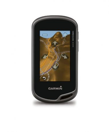 Garmin Oregon 650t Handheld Kayak GPS