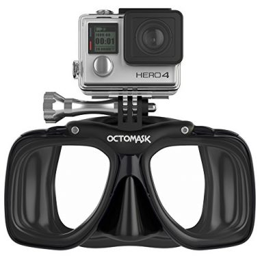 GoPro Hero4 and Hero3+ Dive Scuba Mask