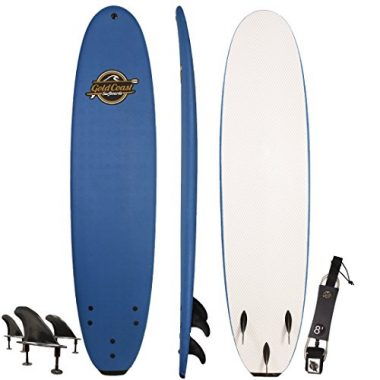 Gold Coast Soft-Top Surfboard 8'
