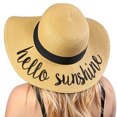 Funky Junque Women's Beach Floppy Sun Hat