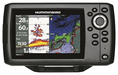 Helix 5 Chirp GPS G2 Fish Finder By Hummingbird