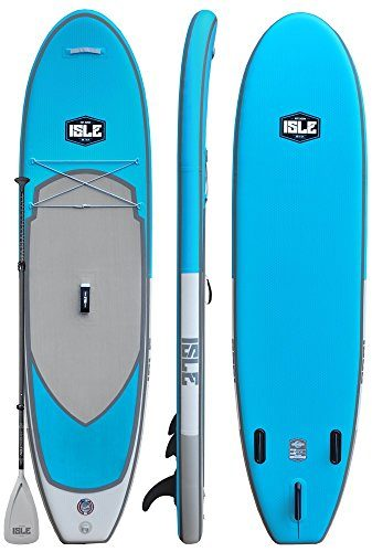 ISLE Airtech Inflatable All Around Stand Up Paddle Board Package