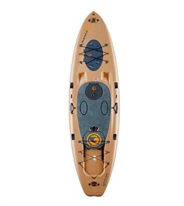 Imagine Surf V2 Wizard Angler Stand Up Fishing Paddle Board