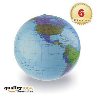 Inflatable World Globe Educational Beach Ball