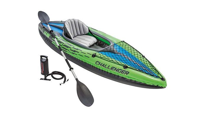 Intex Challenger K1 Recreational Inflatable Kayak