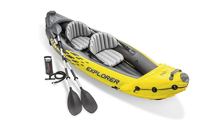 Intex Explorer K2 2-Person Set Inflatable Kayak