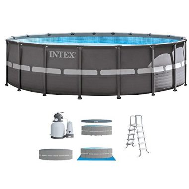 Intex 18ft X 52in Ultra Frame Set Above Ground Pool