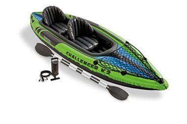 Intex Challenger K2 Kayak, Inflatable 2 Person Kayak