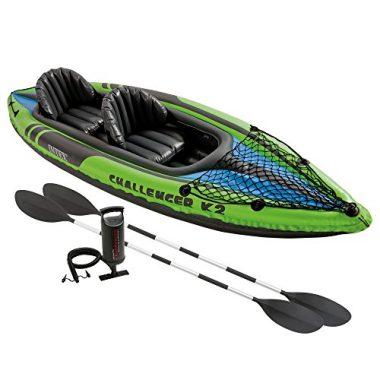 Intex Challenger K2 Kayak, 2-Person Inflatable Recreational Kayak