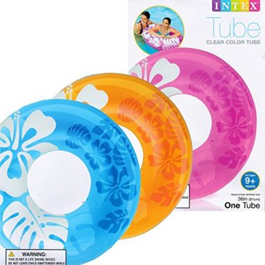 Clear Color Pool Tube by Intex