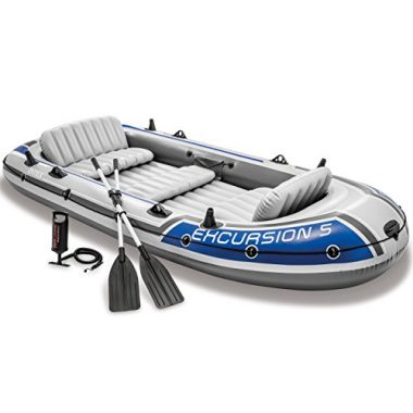 Intex Excursion 5-Person Inflatable Boat