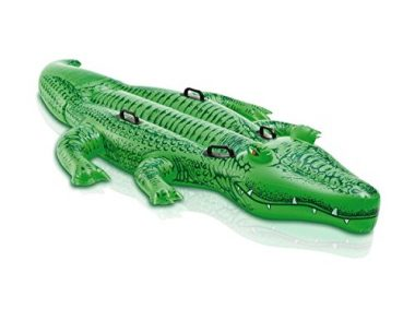 Giant Pool Gator Ride-On by Intex