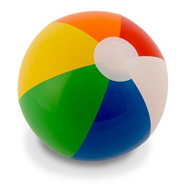 Rainbow (12 Pack) Beach Ball
