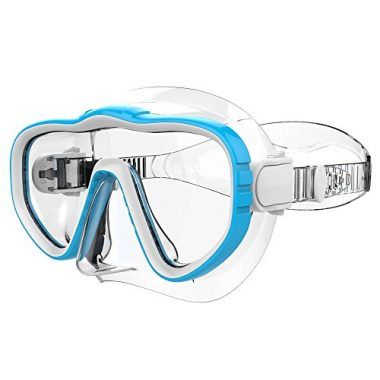 Adult Snorkel / Snorkel Mask with Silicone Skirt and Strap